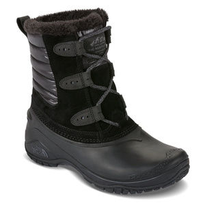 THE NORTH FACE SHORT SNOW LACE UP BOOTS SIZE 11